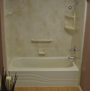 Almond Slate Bath